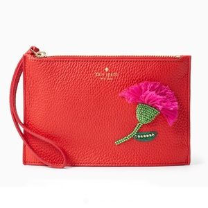 Kate Spade On Purpose Prickly Pear Mini Pouch